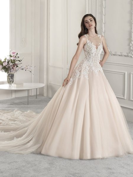 819 Wedding Dress from the Demetrios Starlight 2019 Bridal Collection