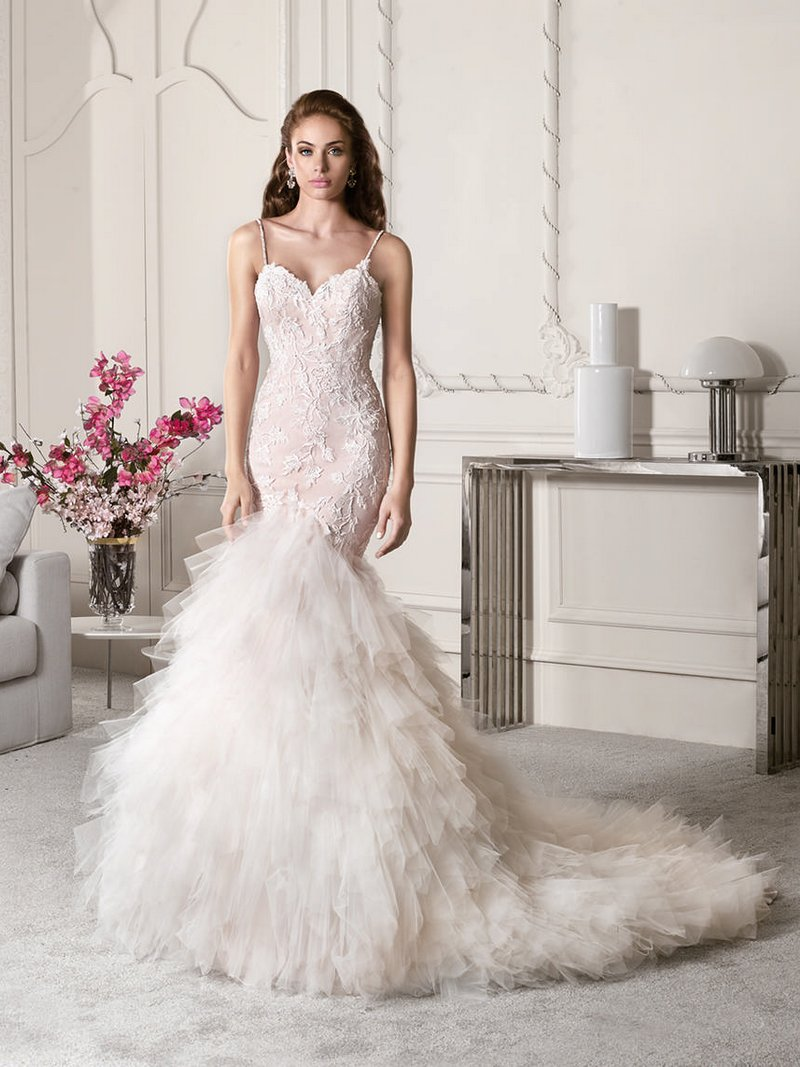 820 Wedding Dress from the Demetrios Starlight 2019 Bridal Collection