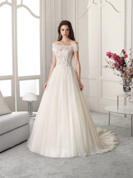 821 Wedding Dress from the Demetrios Starlight 2019 Bridal Collection
