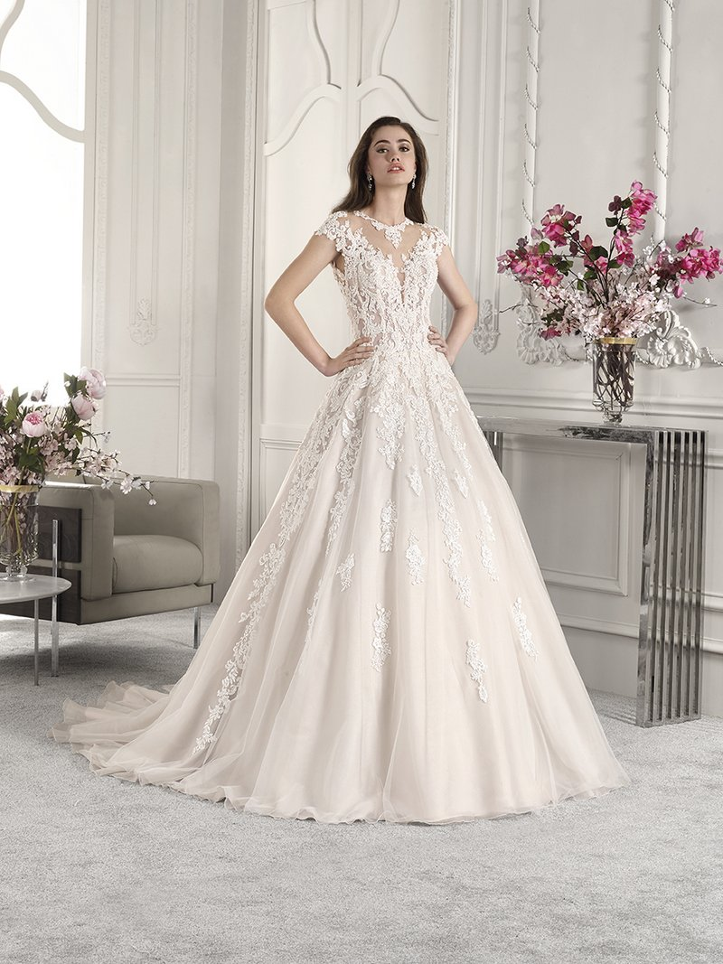 822 Wedding Dress from the Demetrios Starlight 2019 Bridal Collection