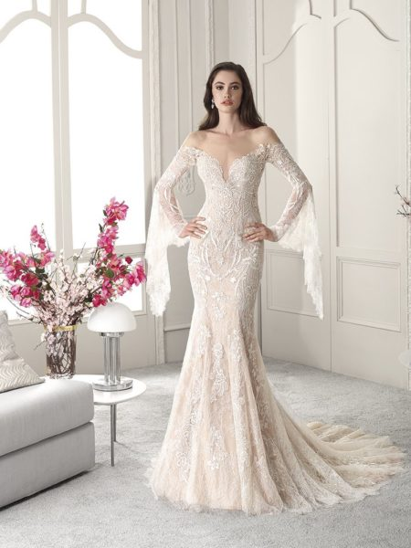 823 Wedding Dress from the Demetrios Starlight 2019 Bridal Collection