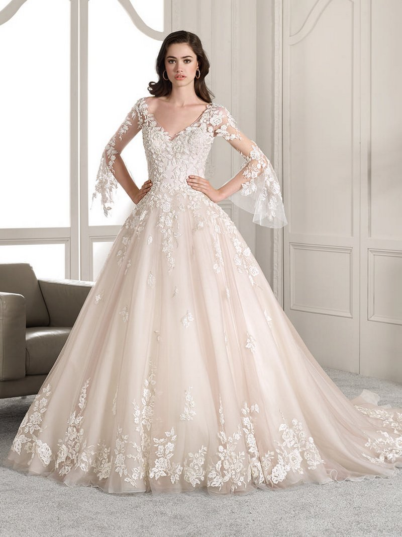 824 Wedding Dress from the Demetrios Starlight 2019 Bridal Collection
