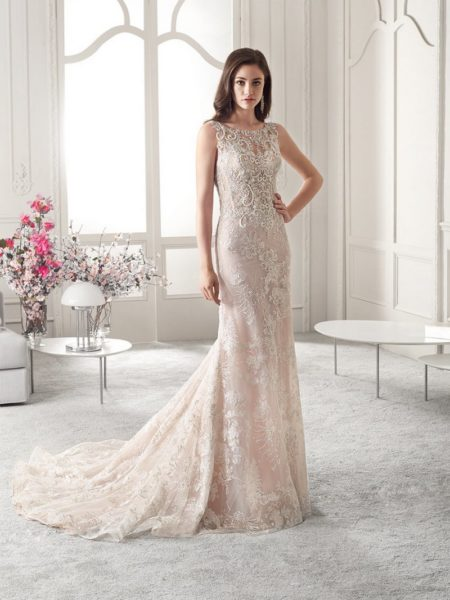 825 Wedding Dress from the Demetrios Starlight 2019 Bridal Collection