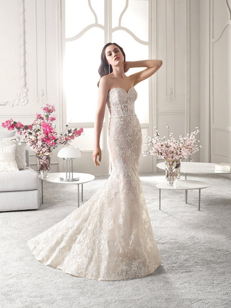 826 Wedding Dress from the Demetrios Starlight 2019 Bridal Collection