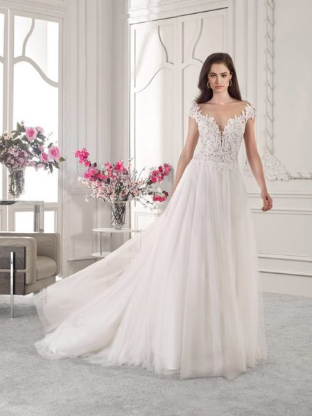 827 Wedding Dress from the Demetrios Starlight 2019 Bridal Collection