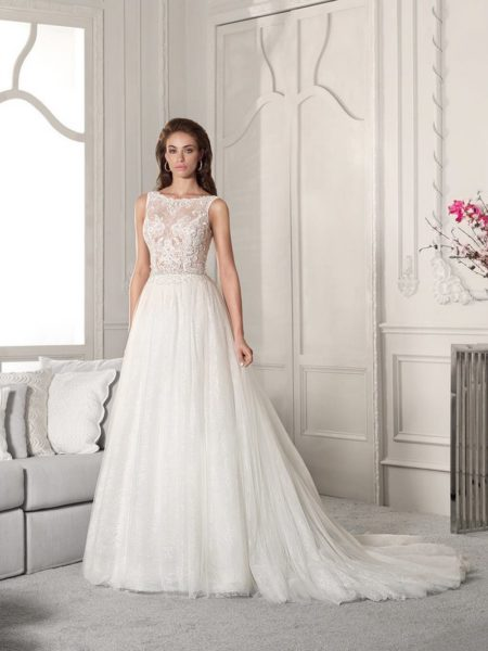 829 Wedding Dress from the Demetrios Starlight 2019 Bridal Collection