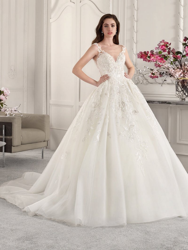 830 Wedding Dress from the Demetrios Starlight 2019 Bridal Collection