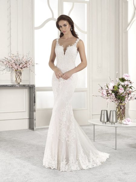 831 Wedding Dress from the Demetrios Starlight 2019 Bridal Collection