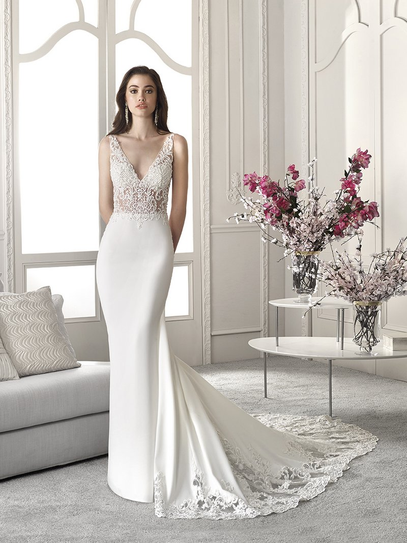 832 Wedding Dress from the Demetrios Starlight 2019 Bridal Collection