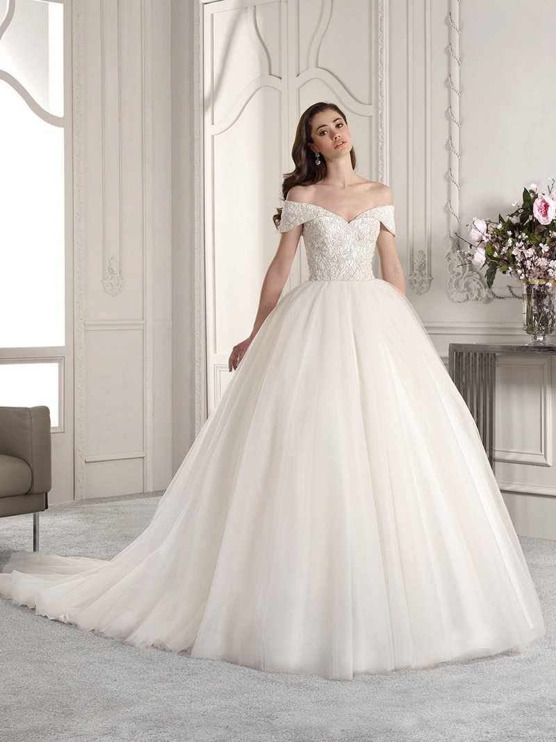 835 Wedding Dress from the Demetrios Starlight 2019 Bridal Collection