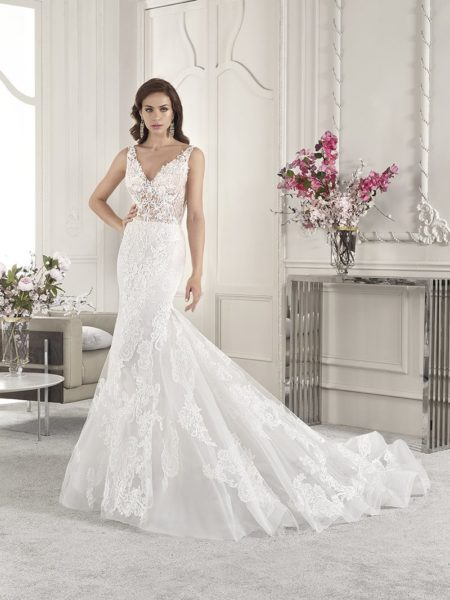 836 Wedding Dress from the Demetrios Starlight 2019 Bridal Collection