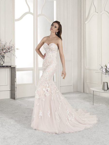 839 Wedding Dress from the Demetrios Starlight 2019 Bridal Collection
