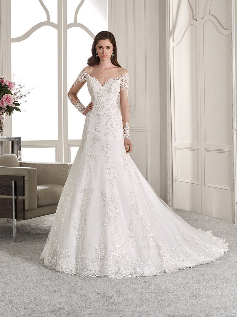 841 Wedding Dress from the Demetrios Starlight 2019 Bridal Collection