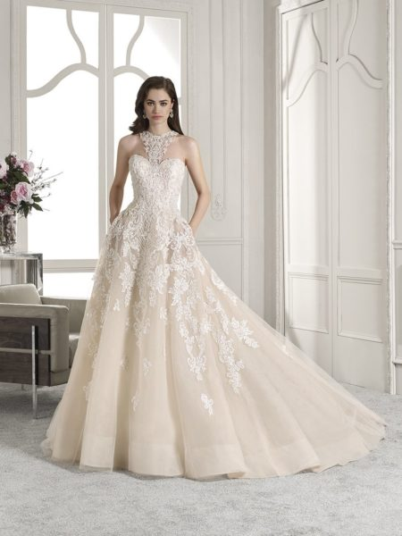 842 Wedding Dress from the Demetrios Starlight 2019 Bridal Collection