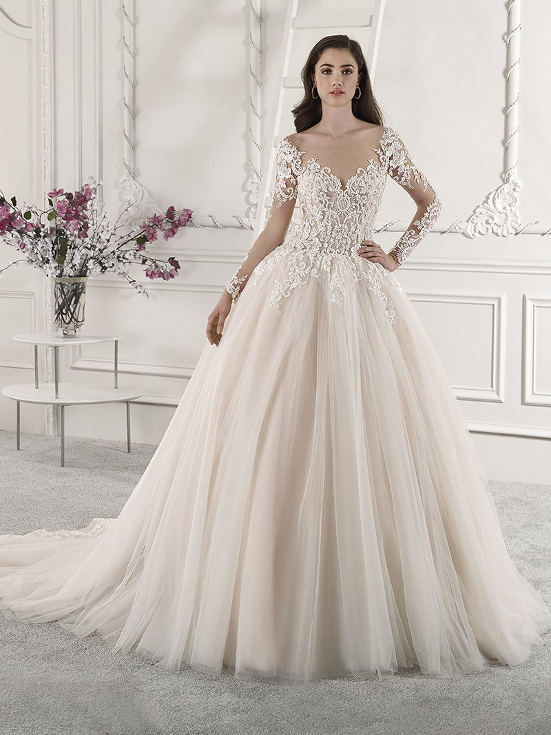 844 Wedding Dress from the Demetrios Starlight 2019 Bridal Collection