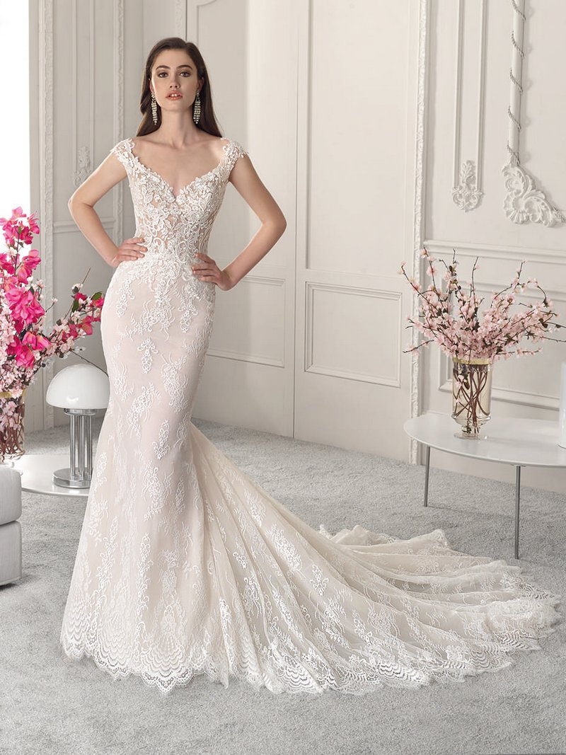 847 Wedding Dress from the Demetrios Starlight 2019 Bridal Collection