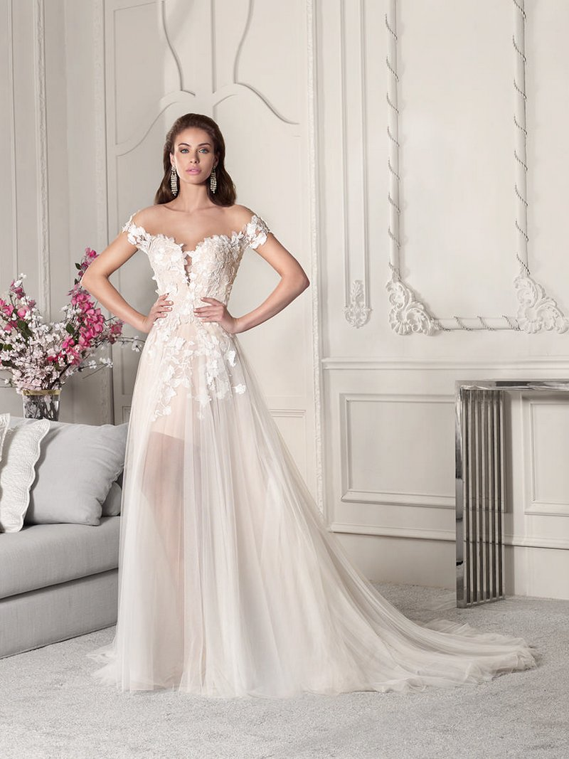 851 Wedding Dress from the Demetrios Starlight 2019 Bridal Collection