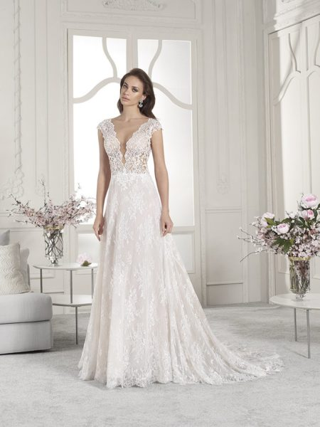 853 Wedding Dress from the Demetrios Starlight 2019 Bridal Collection