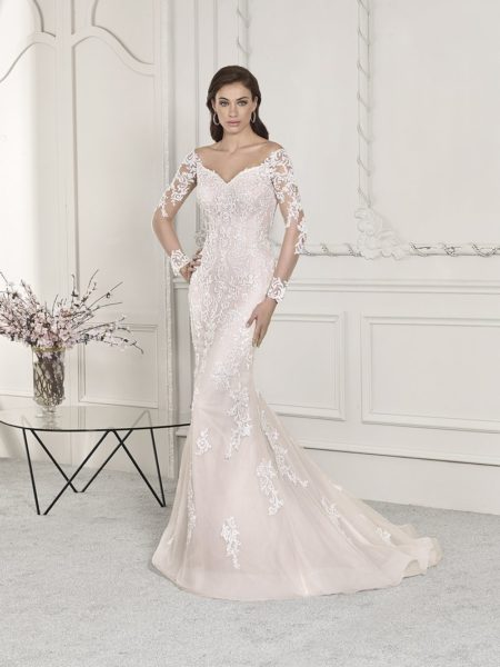 856 Wedding Dress from the Demetrios Starlight 2019 Bridal Collection