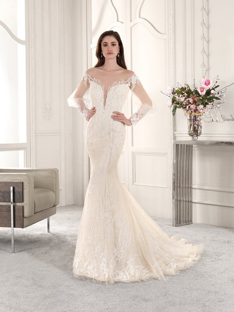 857 Wedding Dress from the Demetrios Starlight 2019 Bridal Collection