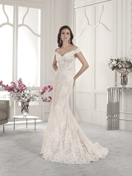 858 Wedding Dress from the Demetrios Starlight 2019 Bridal Collection