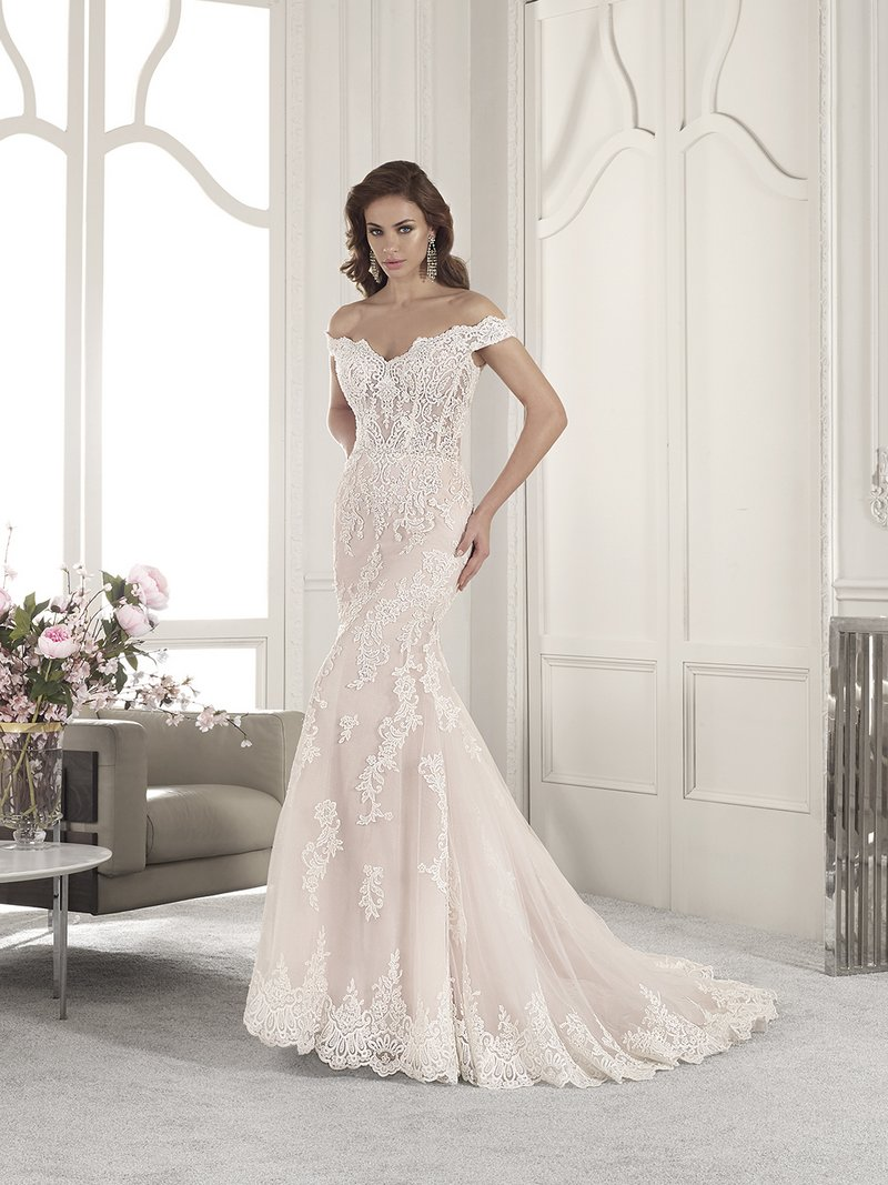 861 Wedding Dress from the Demetrios Starlight 2019 Bridal Collection