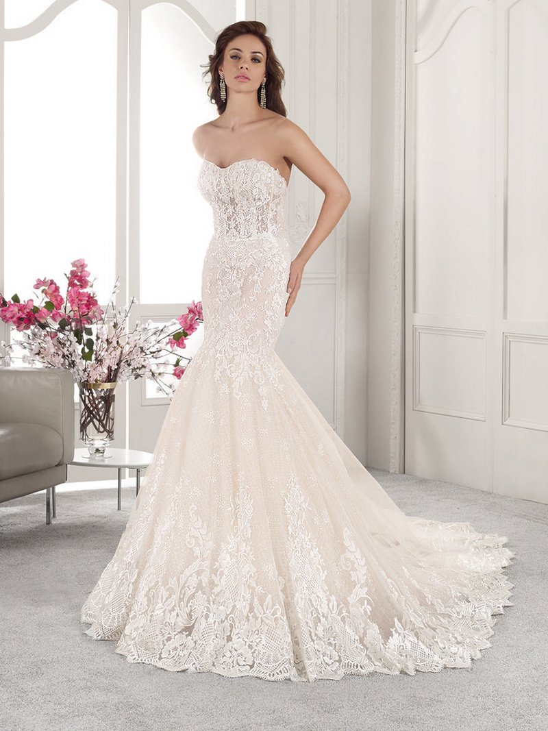 862 Wedding Dress from the Demetrios Starlight 2019 Bridal Collection
