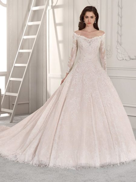 863 Wedding Dress from the Demetrios Starlight 2019 Bridal Collection