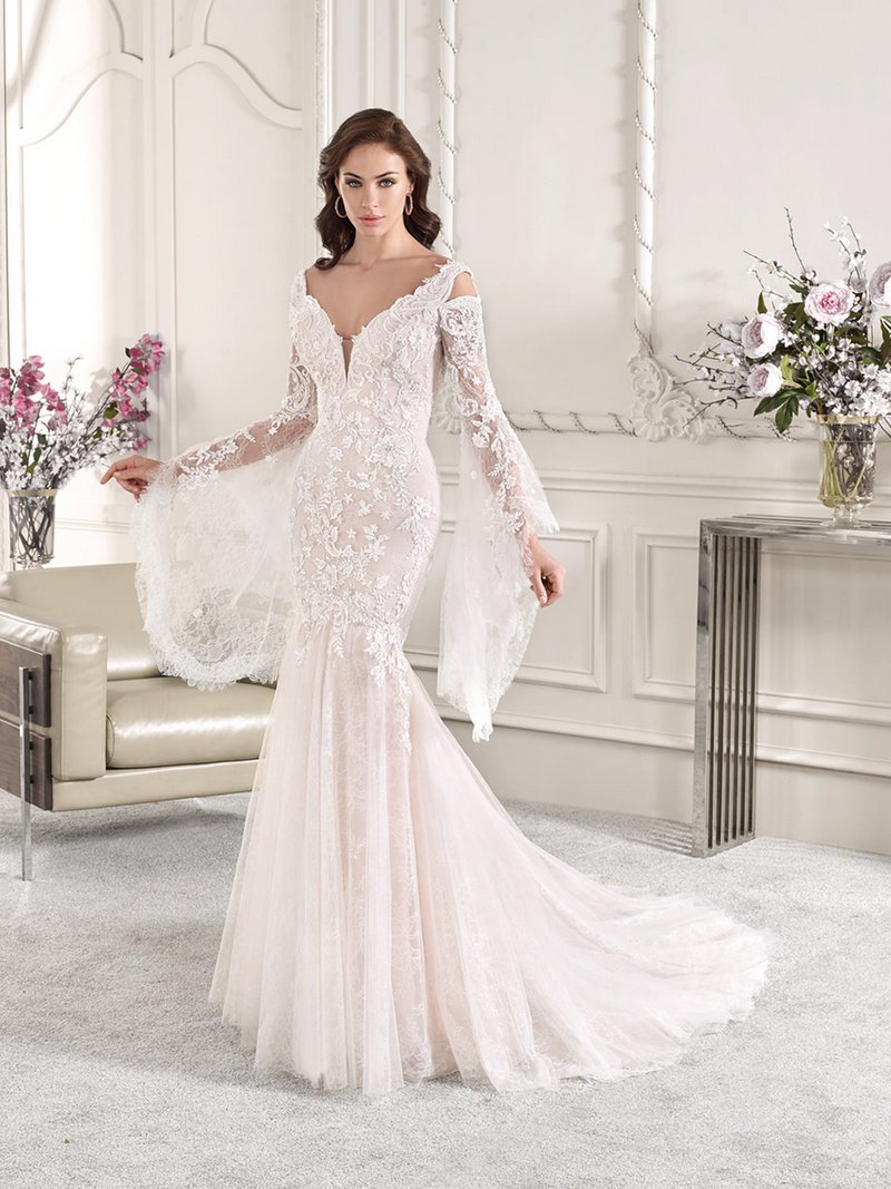864 Wedding Dress from the Demetrios Starlight 2019 Bridal Collection