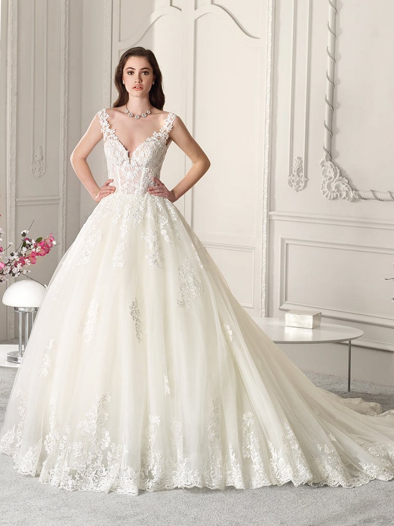 865 Wedding Dress from the Demetrios Starlight 2019 Bridal Collection