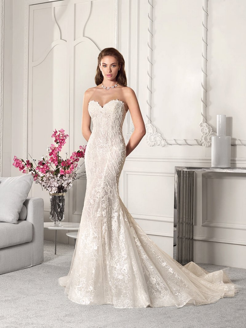 867 Wedding Dress from the Demetrios Starlight 2019 Bridal Collection