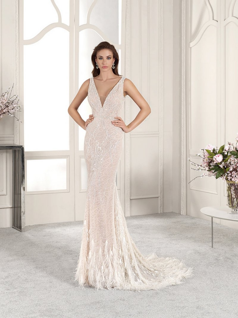 882 Wedding Dress from the Demetrios Starlight 2019 Bridal Collection