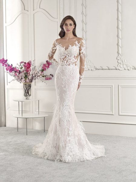 885 Wedding Dress from the Demetrios Starlight 2019 Bridal Collection