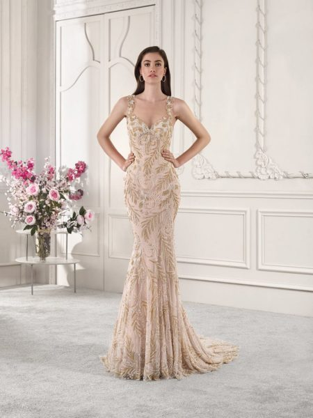 886 Wedding Dress from the Demetrios Starlight 2019 Bridal Collection