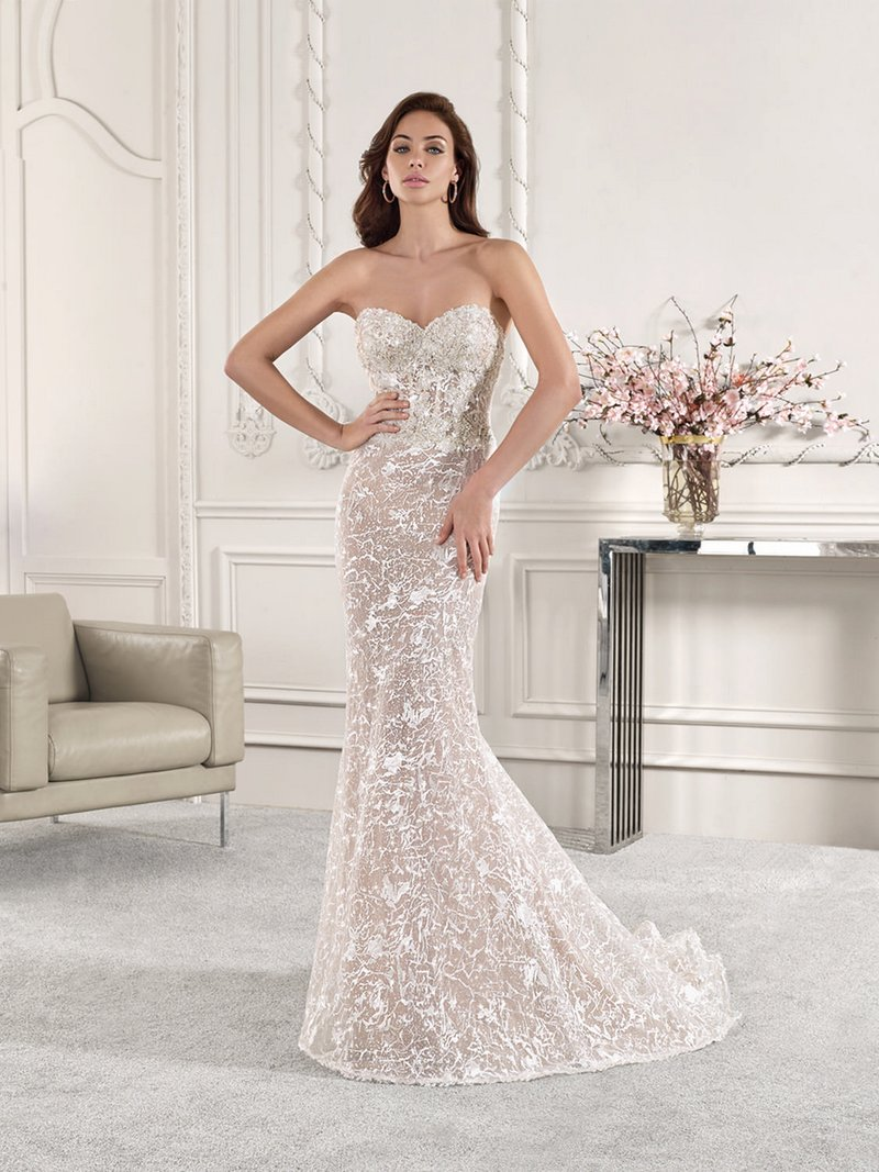 887 Wedding Dress from the Demetrios Starlight 2019 Bridal Collection