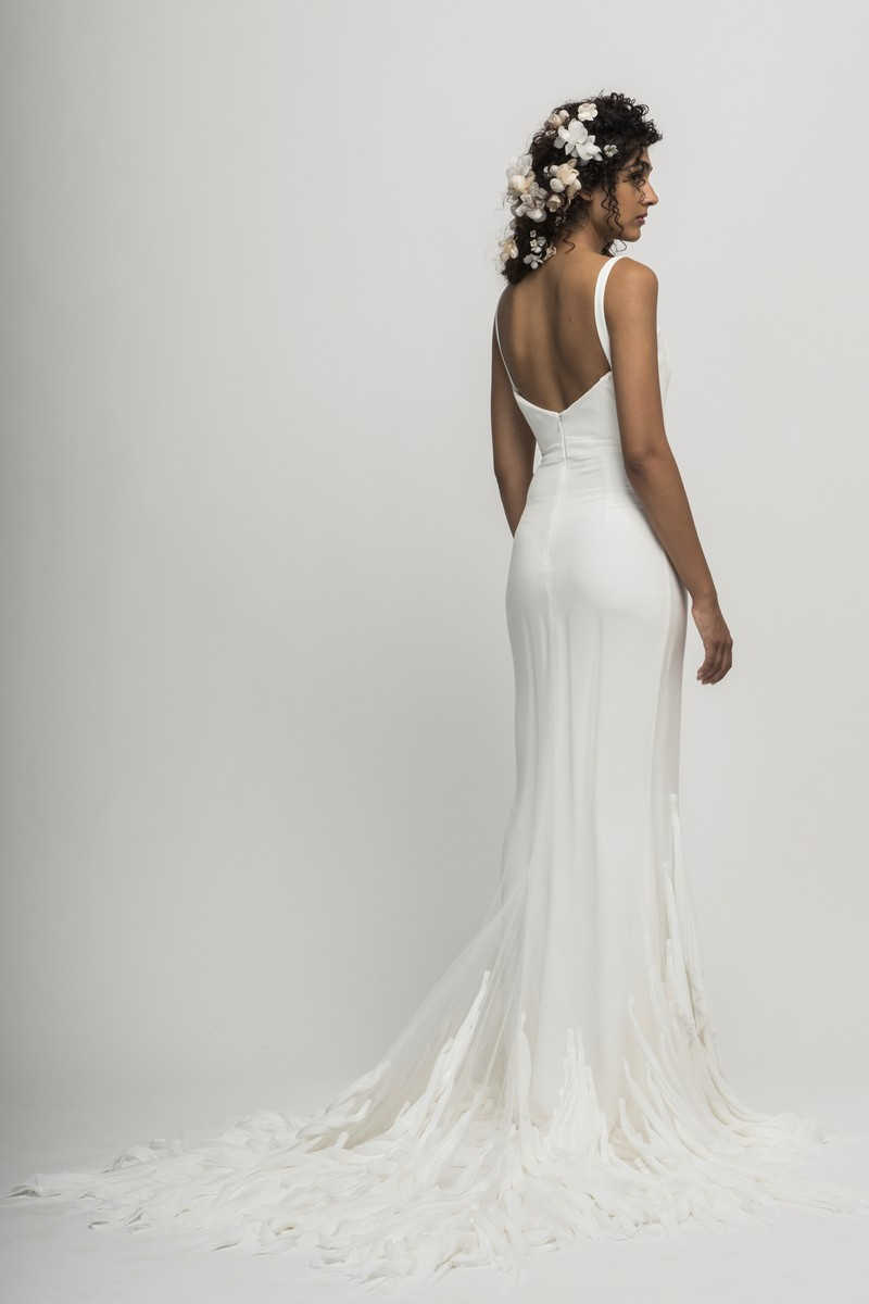 Back of Amalfi Wedding Dress from the Alexandra Grecco Cloud Nine 2019 Bridal Collection