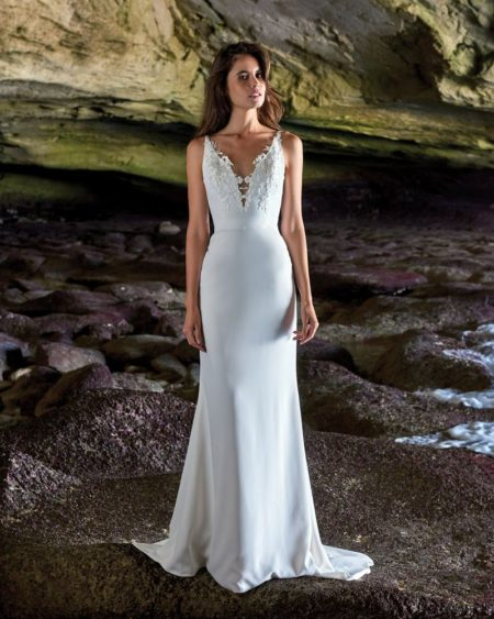 Amelia Wedding Dress from the Elbeth Gillis Luminescence 2019 Bridal Collection