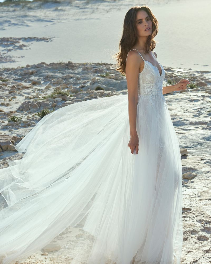 Ava Wedding Dress from the Elbeth Gillis Luminescence 2019 Bridal Collection