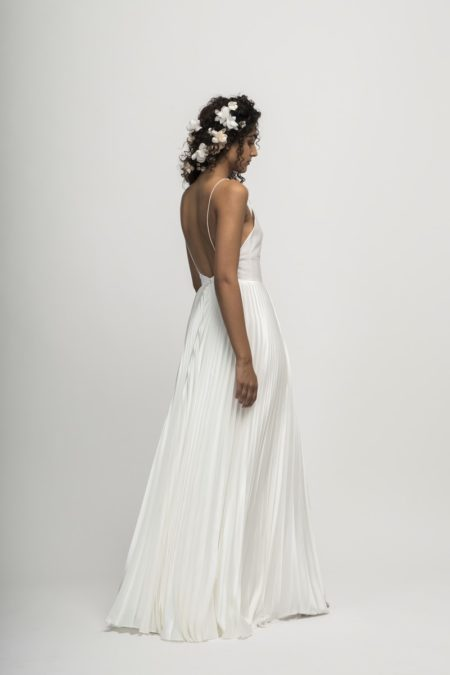 Back of Capri Wedding Dress from the Alexandra Grecco Cloud Nine 2019 Bridal Collection