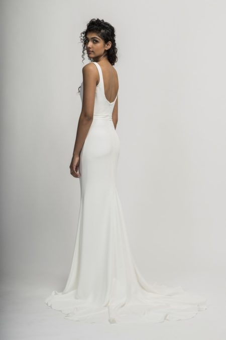 Back of Colette Wedding Dress from the Alexandra Grecco Cloud Nine 2019 Bridal Collection