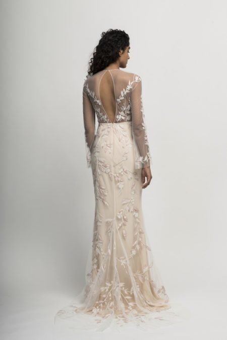 Back of Cyprus Wedding Dress from the Alexandra Grecco Cloud Nine 2019 Bridal Collection