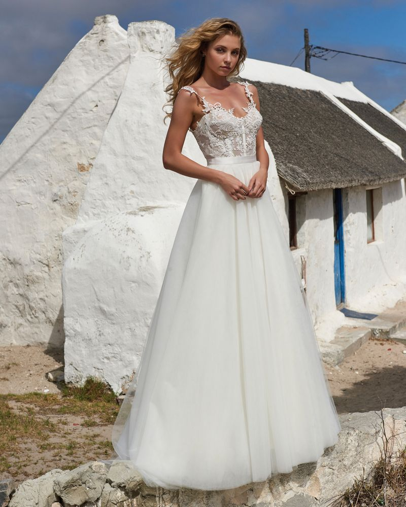 Elsa Skirt from the Elbeth Gillis Arniston Blue 2019 Bridal Collection