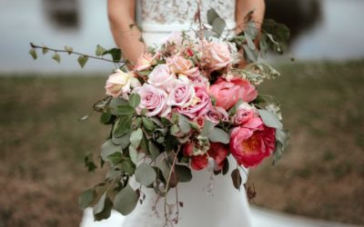 Living Coral Wedding Styling Ideas