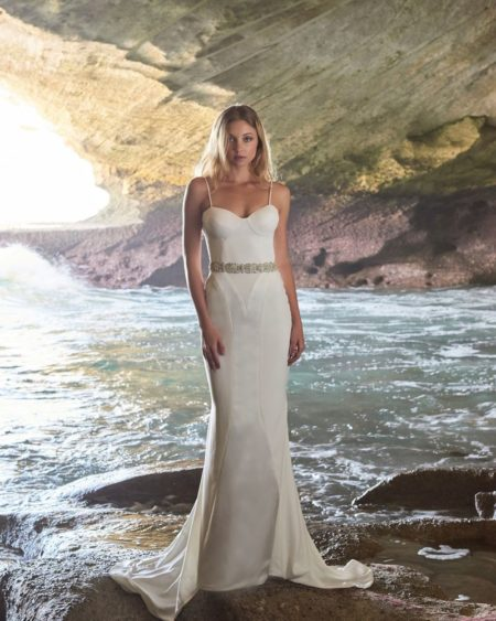 Madison Wedding Dress from the Elbeth Gillis Luminescence 2019 Bridal Collection