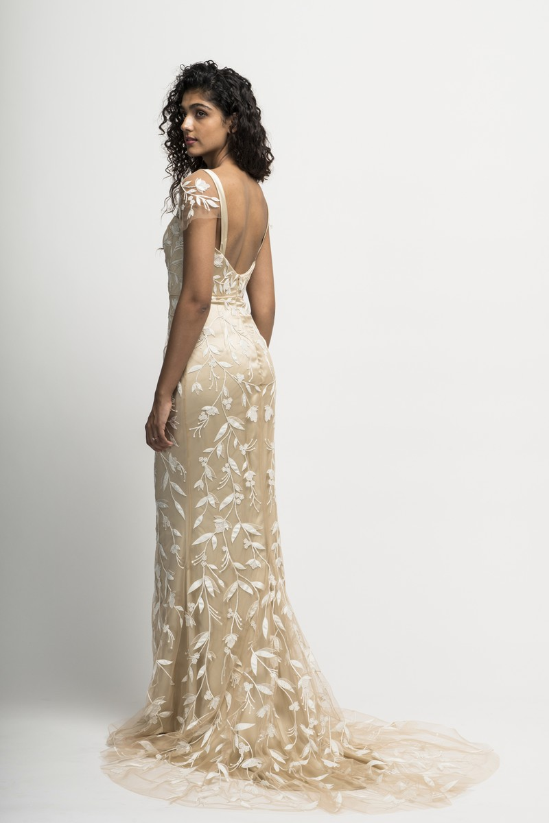 Back of Mae Wedding Dress from the Alexandra Grecco Cloud Nine 2019 Bridal Collection