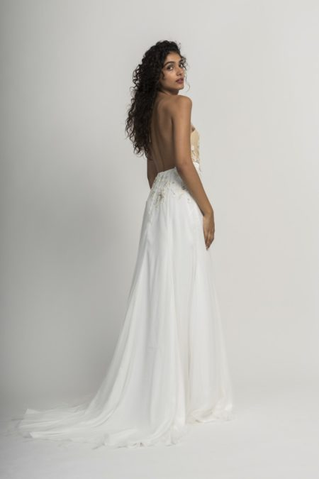 Back of Mara Wedding Dress from the Alexandra Grecco Cloud Nine 2019 Bridal Collection