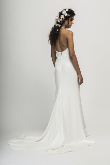 Back of Martine Wedding Dress from the Alexandra Grecco Cloud Nine 2019 Bridal Collection