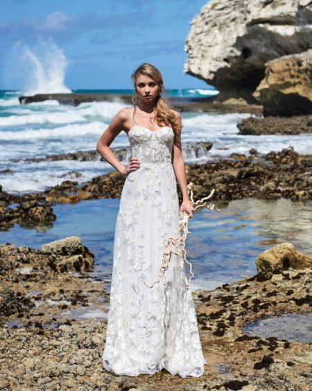Rosemary Wedding Dress from the Elbeth Gillis Luminescence 2019 Bridal Collection