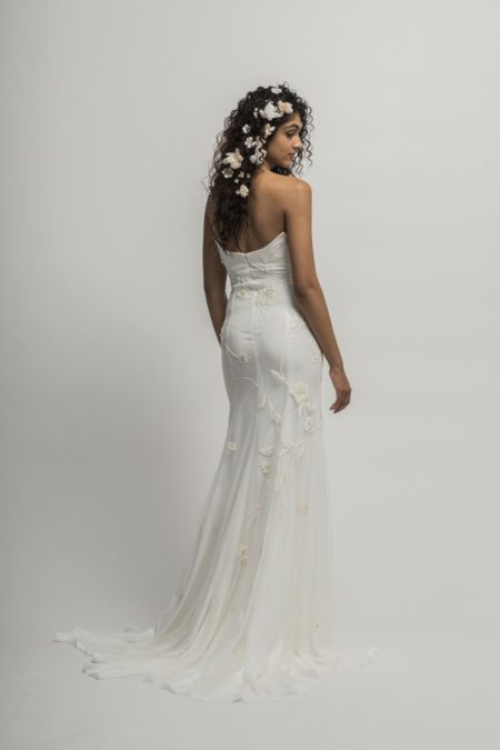 Back of Serafina Wedding Dress from the Alexandra Grecco Cloud Nine 2019 Bridal Collection