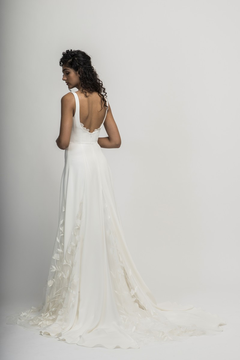 Back of Sienne Wedding Dress from the Alexandra Grecco Cloud Nine 2019 Bridal Collection
